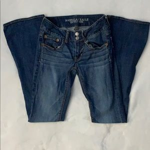 American Eagle bootcut jeans size 00
